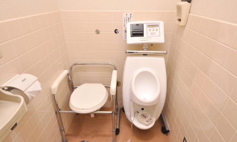 尿流量測定室 写真